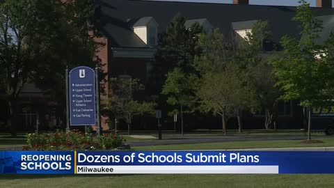 Milwaukee Health Department says it has received reopening plans...
